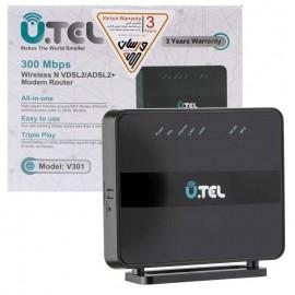 مودم روتر ADSL2+/VDSL2 یوتل V301